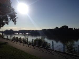 Sunrise over the Loire
