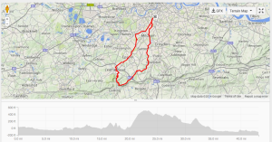 Out to Box Hill and back