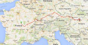 Burgundy to Budapest